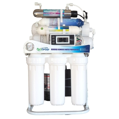 PURIFICATOR DE APA INSTANT 800 GPD + PH + ORP + UV