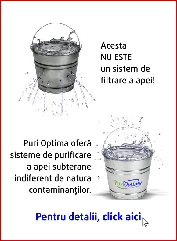 Instalatie de purificare a apei pentru toata casa