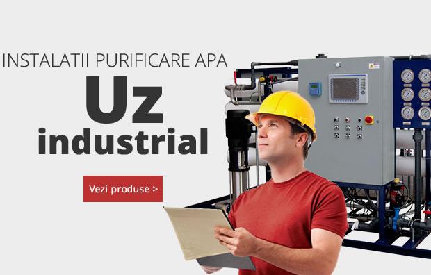 Instalatii industriale de purificare a apei