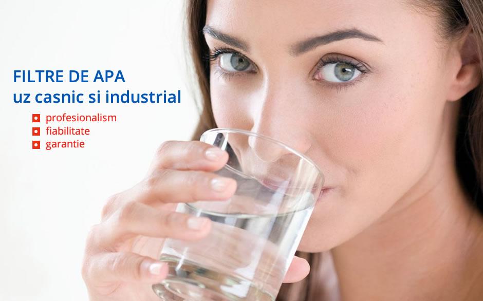 Filtre de apa pentru uz casnic si industrial