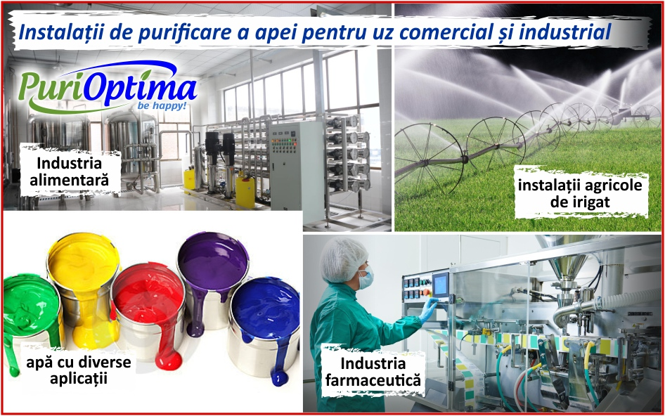 Instalatii de purificare pentru irigat